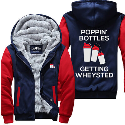 Poppin' Bottles Getting Wheysted - Fitness Jacket
