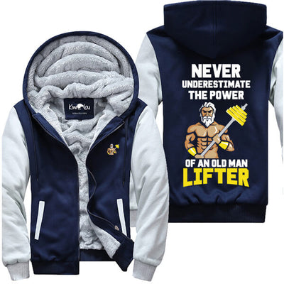 The Power Of An Old Man Lifter - Fitness Jacket