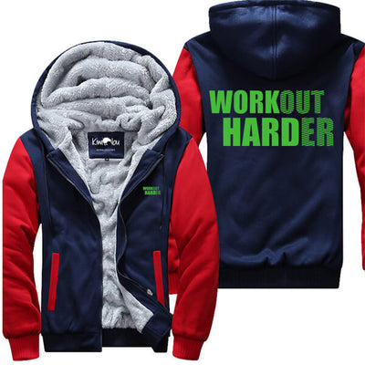 Workout Harder - Fitness Jacket
