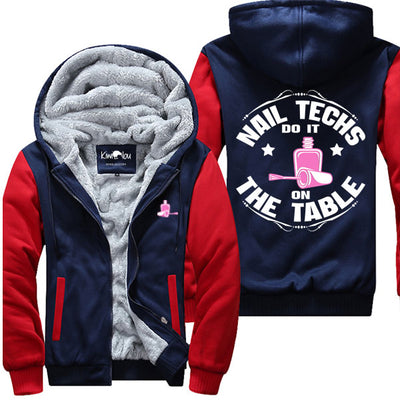 Nail Techs Do It On The Table - Jacket