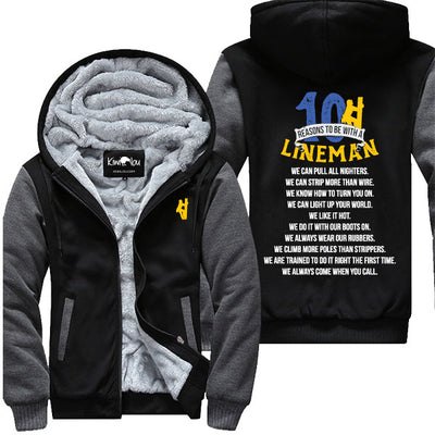 10 Reasons To Be With A Lineman - Jacket