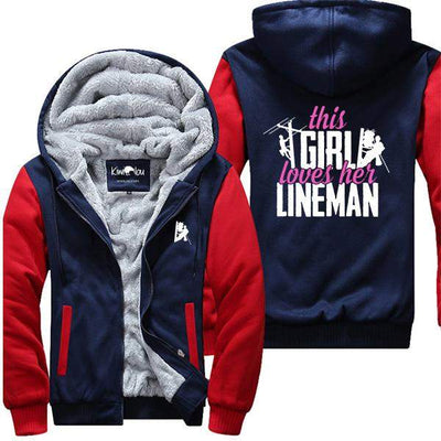 This Girl Loves her Lineman Jacket - KiwiLou