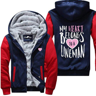 My Heart Belongs to a Lineman Jacket