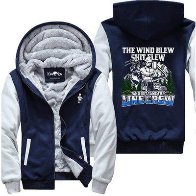 Wind Blew Shit Flew Lineman II Jacket