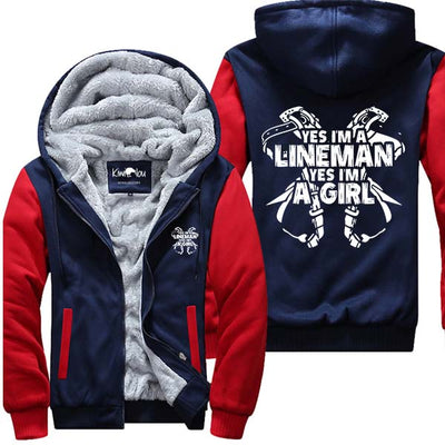 Yes I Am A Lineman - Jacket