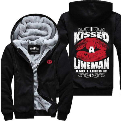 I Kissed A Lineman - Jacket