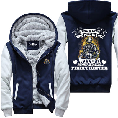 Just a Girl in Love with a Firefighter - Jacket