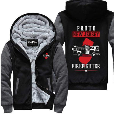 Proud New Jersey Firefighter Jacket