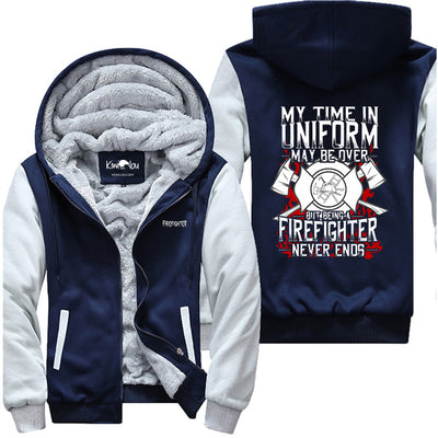 My Time in Uniform - Firefighter Jacket
