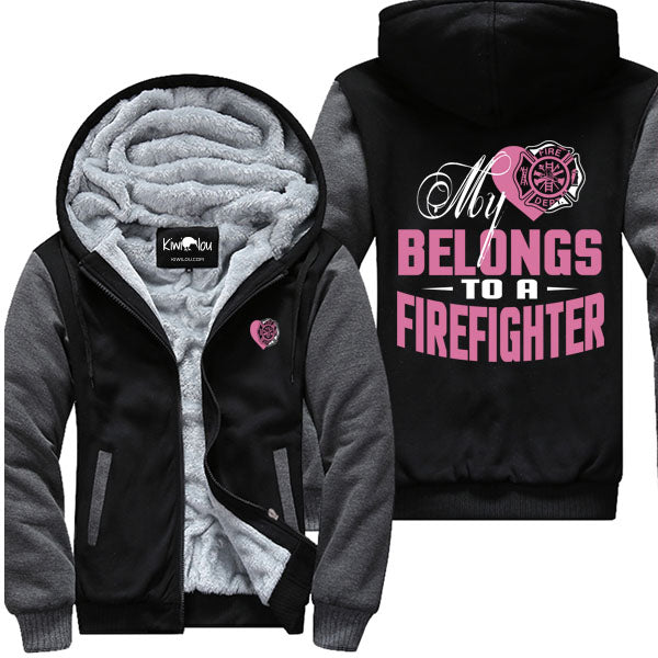 Belongs To A Firefighter - Jacket