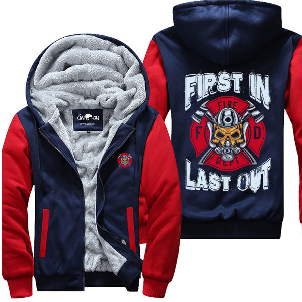 First In Last Out - Firefighter Jacket