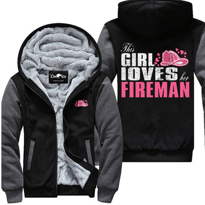 Loves Her Fireman - Jacket