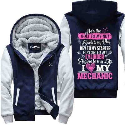I Love My Mechanic - Mechanic Jacket
