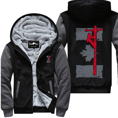 Canada Lineman Flag - Jacket