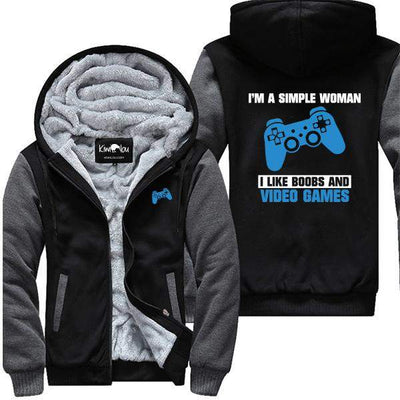 I'm a Simple Woman - Gamer Jacket