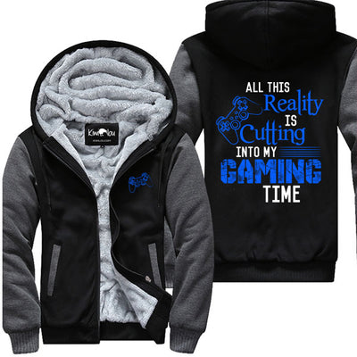 All This Reality Is Cutting Into My Gaming Time (PS) -  Jacket