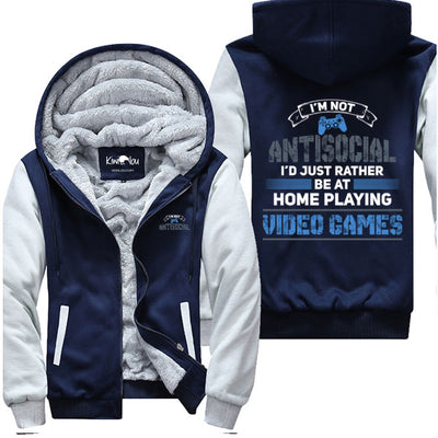 I Am Not Antisocial (PS) - Gaming Jacket