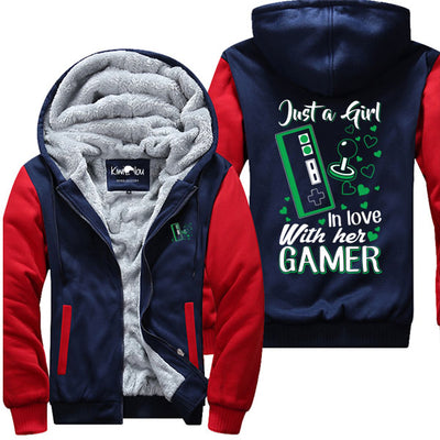 Just A Girl In Love With Her Gamer  - Jacket