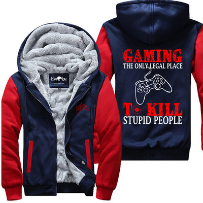 Only Legal Place To Kill - Gaming Jacket