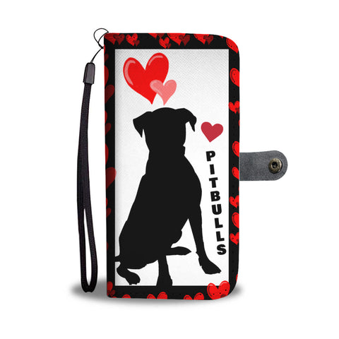 Love Pitbull Wallet case