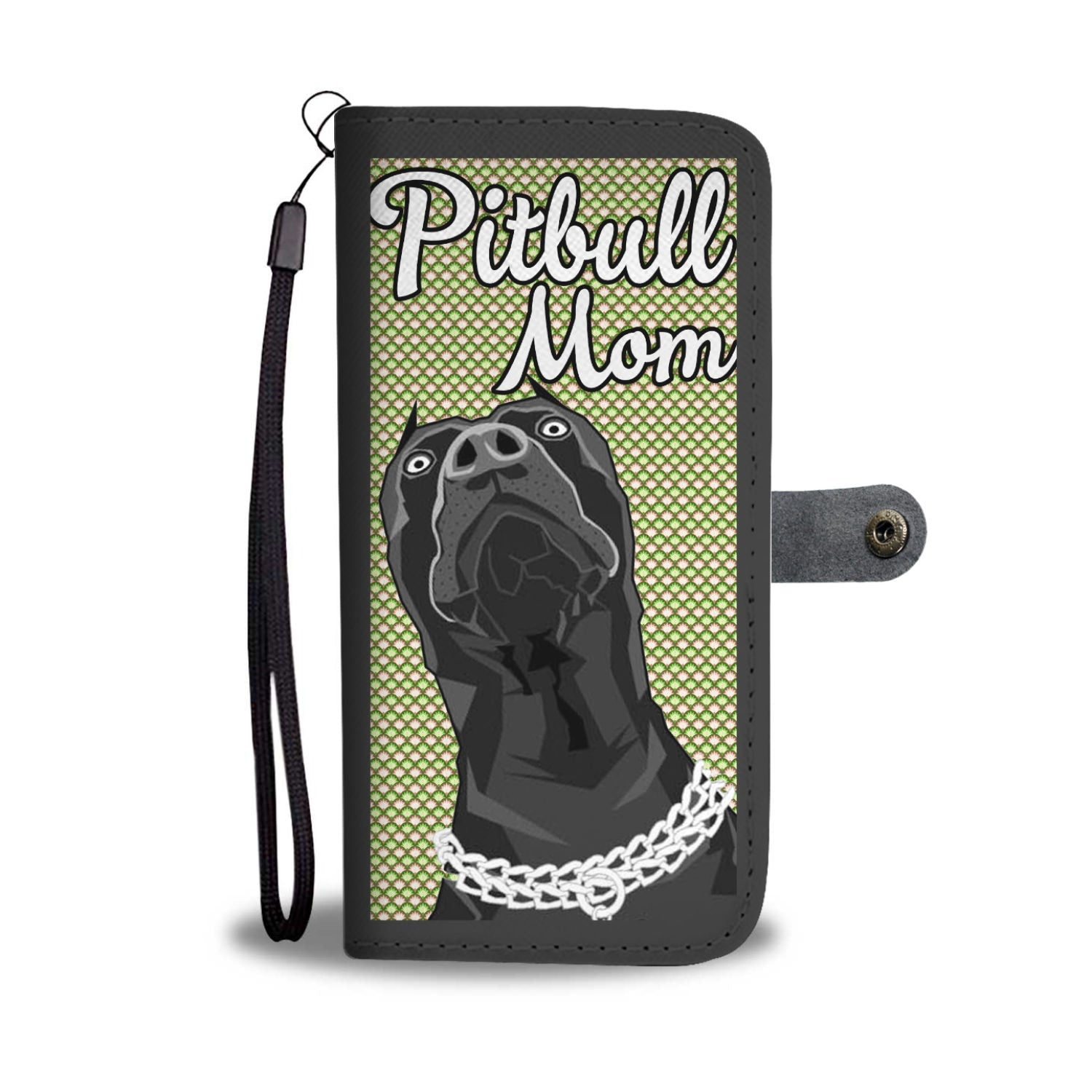 Pit Mom Peep Wallet Phone Case