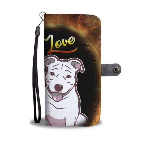Love my Pitbull Wallet Phone case