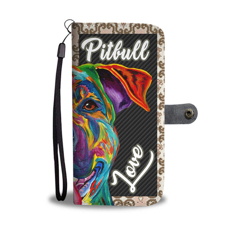 Cool Pit Love Wallet Mobile Case