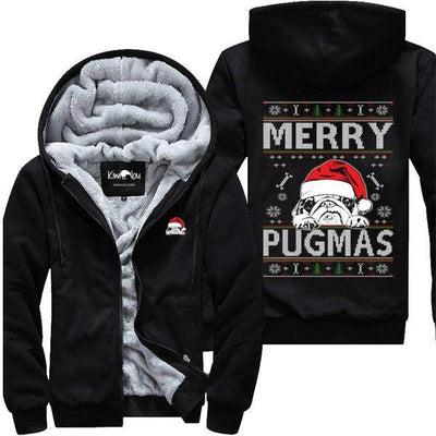 Merry Pugmas - Christmas Pug Jacket