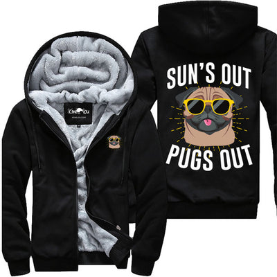Sun's Out Pugs Out - Jacket
