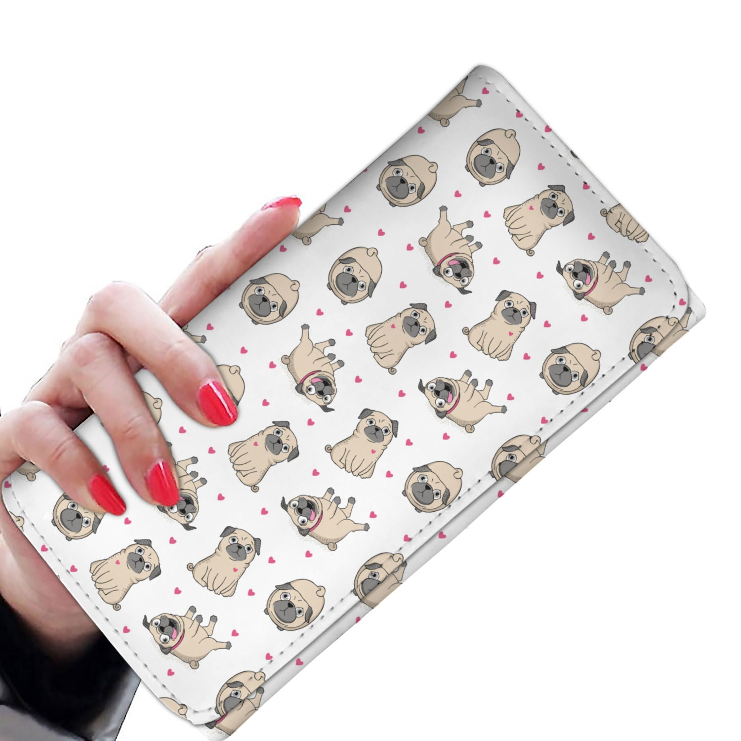 Pug Love Womens Wallet
