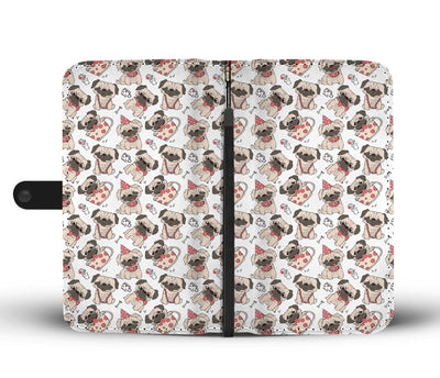 Fashion Pug Wallet Phone Case