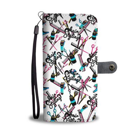 Hair Styling Wallet Phone Case