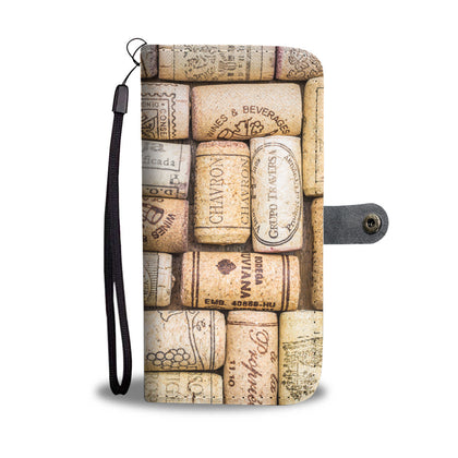 Wine Corks Wallet Phone Case