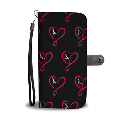 Love Infinity Hairstylist Wallet Phone Case - Hairstylist Bestseller