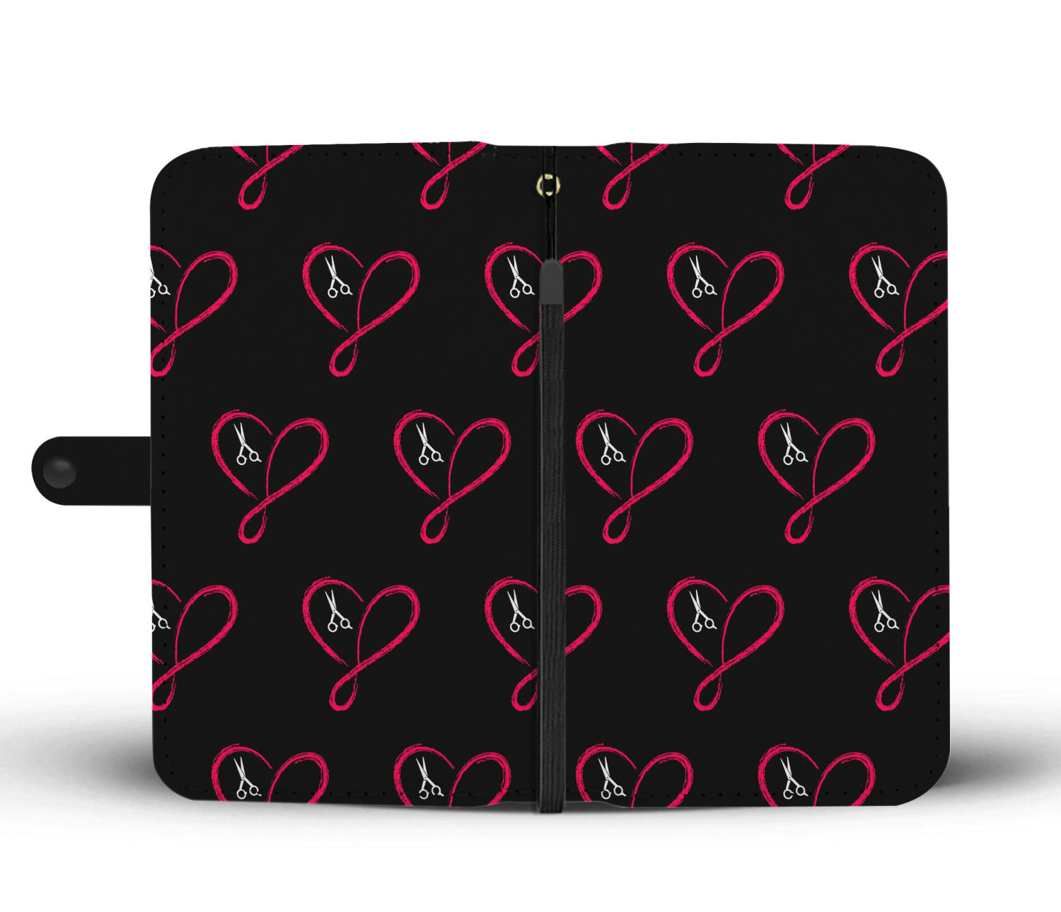 Love Infinity Hairstylist Wallet Phone Case
