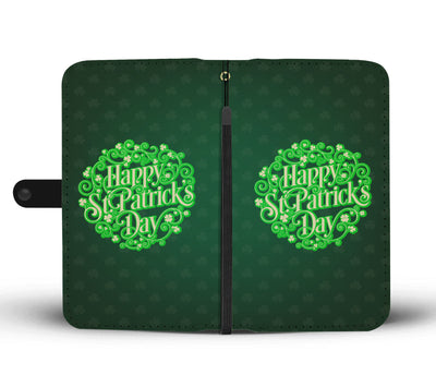 Happy St. Patricks Day Wallet Phone Case