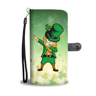 Leprechaun Dab Wallet Phone Case