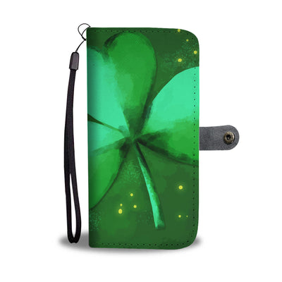 Shamrock Wallet Phone Case