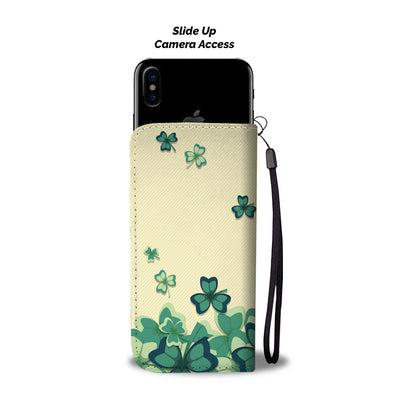 Shamrocks Wallet Phone Case
