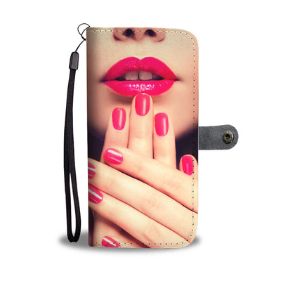 Beautiful Nails Wallet Phone Case