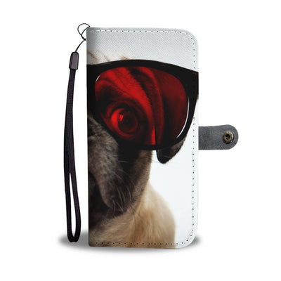 Silly Pug Wallet Phone Case