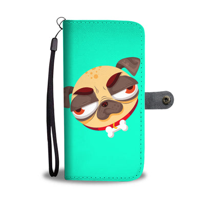 Ugly Pugs Wallet Phone Case