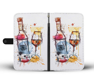 Artistic Wine Wallet Phone Case - wine bestseller