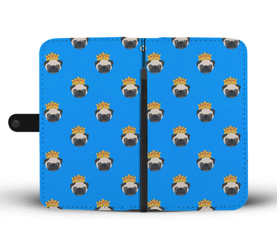 King Pug Wallet Phone Case