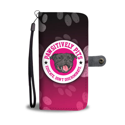 Pawsitively Pits Wallet Phone Case