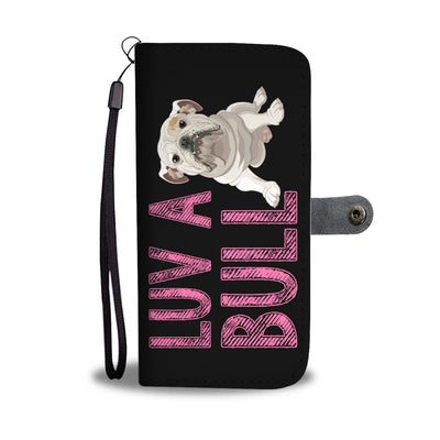 Luv A Bull Wallet Phone Case - bulldog bestseller