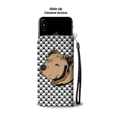 Paws Pitbull Womens Phone Case