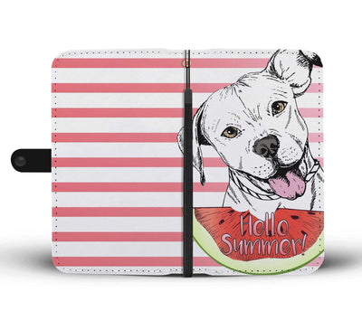 Pitbull Summer Wallet Case