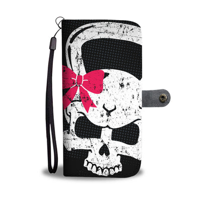 Kettlebell Skull Wallet Phone Case