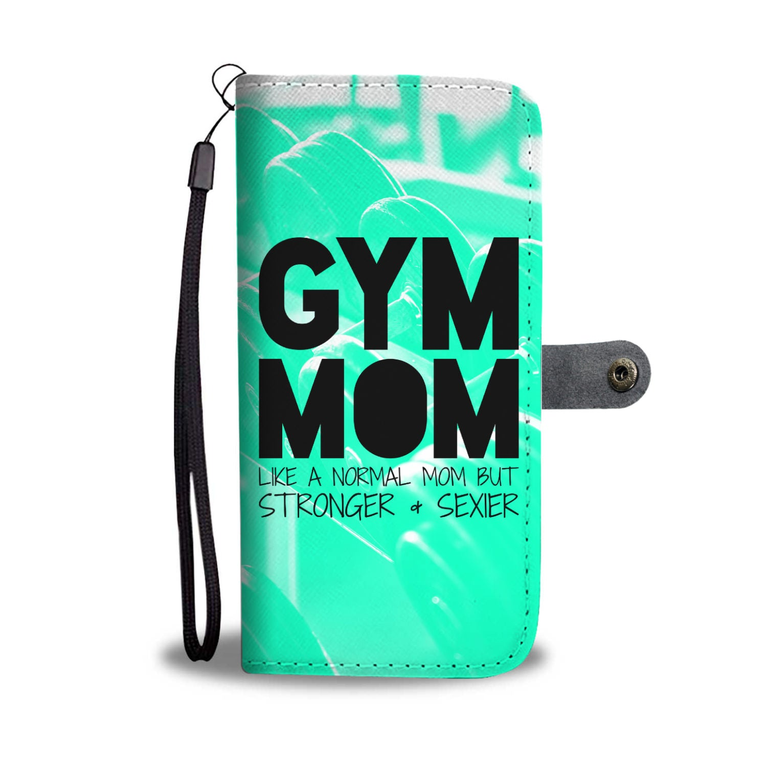 Gym Mom Wallet Phone Case